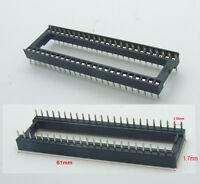 """100PCS 48 pin IC Socket 2.54mm(.100"""") DIP adapter Row-To-Row spacing Adapter"""
