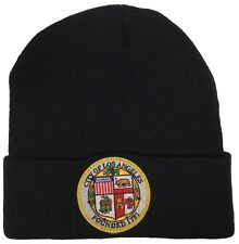 City Of Los Angeles Seal Beanie Color Black