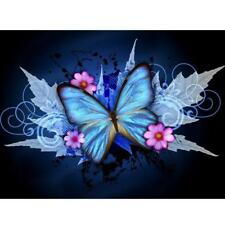 Blue Butterfly DIY 5D Diamond Embroidery Painting Cross Stitch Home Decor