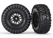 """TRAXXAS 8272 Neumáticos Canyon en las llantas 1.9"""" Negros TRX-4/RUEDAS TRX4 1.9"""""""