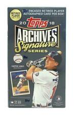 2018 Topps Archives Signature Series Baseball Retired Player Edition