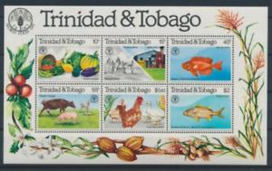 Trinidad and Tobago - 1981 - Sc 353a - World Food Day Souvenir Sheet VF MNH