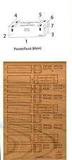 Hungarian Aero Decals 1/35 GERMAN AMMO BOXES PANZERFAUST KLEIN Laser Cut Wood