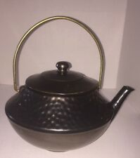 Vintage McCOY Limited 185 Hammered Kettle TeaPot Coffee Pot Cookie Jar USA