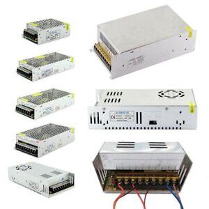 AC 100-240V To DC 5V 12V 24V 36V LED Strip Light Power Supply Transformer Driver