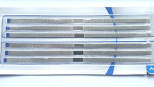 MICRODONT USA PERFORATED DIAMOND STAINLESS STEEL STRIPS 4MM MEDIUM 6BOX