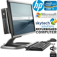 "HP Compaq 8200 23"" Ultra Slim All in One PC Intel Core i5 Quad 8GB 240GB SSD"