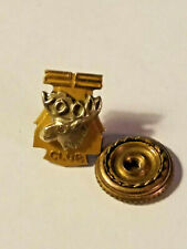 Vintage FRATERNAL LOYAL ORDER of the MOOSE 10K Gold 25 CLUB TIE TACK Lapel Pin