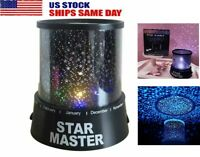 Romantic Starry Night Sky Projector LED Lamp Star Light Master Party Decor Gifts