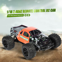 1/18 2.4GHz Remote Control RC Car High Speed Off-road Truck for Kids Gift New