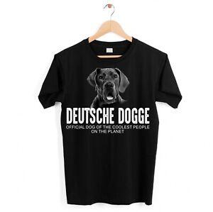 Deutsche Dogge Hund Unisex Shirt Official Dog cool Leute lustig Hundemotiv Shirt