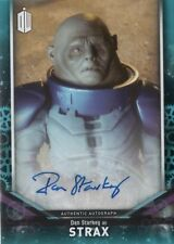 2018 Topps Doctor Who Signature Starkey as Strax Autograph blue /25