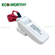 12V 20A Automatic Blige Pump Float Switch for Marine Boat,Fishing,Pool,Fishing