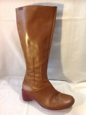Camper Brown Knee High Leather Boots Size 36