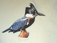 Embroidered Short-Sleeved T-Shirt - Kingfisher BT3901