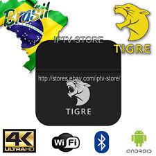 2018 Newest TIGRE well as HTV5 A2 Brazilian 4K IPTV Internet Live Brazil TV Box