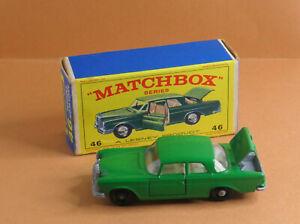 VINTAGE Matchbox by Lesney - Regular Wheels MB 46c Mercedes-Benz 300SE Coupe
