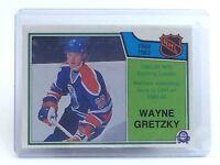 1983-1984 Wayne Gretzky #217 Edmonton Oilers OPC O-Pee-Chee Hockey Card H708
