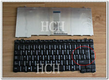UK  NEW For Toshiba Satellite A200 A205 M200 A300 L200 M300 L300 Keyboard BLACK