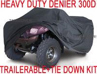Bombardier 300 330 400 Outlander ATV Cover GRAY T  L 2