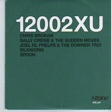 (DE344) 12xu Records Sampler, Silkworm / Spoon etc - 2002 DJ CD