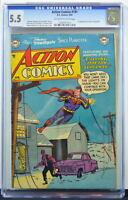 ACTION COMICS #191 CGC 5.5 Superman 1954 1st App Janu in Congo Bill