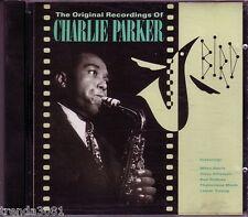 CHARLIE PARKER Bird Original Recordings Verve CD Classic Greatest 40s 50s Jazz