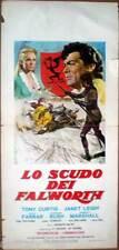 locandina 1955 LO SCUDO DEI FALWORTH-The Black Shield -Tony Curtis:Janeth Leigh