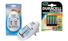 BATTERY CHARGER AA/AAA/PP3 9v+4x AAA DURACELL SUPREME