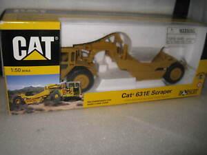 CAT 1/50  CATERPILLAR  CAT  631E SCRAPER   #55699   OLD SHOP STOCK