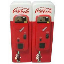 Coca Cola - Vending Machine Salt And Pepper Shakers / Pots - New & Official