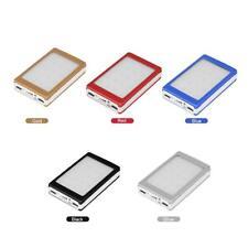 20000mAh 2A Dual USB Solar Power Bank for Phone DIY Kit Portable Battery Charger