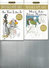 SHAKESPEARE - AS YOU LIKE IT - A LOT OF 2 BOOKS