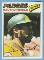 Dave Winfield 1977 Topps #390 San Diego Padres Combined Shipping JVB