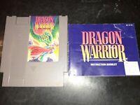 Dragon Warrior (NES, 1989) *BUY 2 GET 1 FREE +FREE SHIPPING*