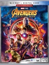 Avengers: Infinity War Blu-ray Only Disc only - no codes no case