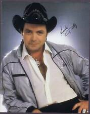 """ORIGINAL 8"""" x 10"""" GLOSSY COLOR PHOTO SIGNED """"MICKEY GILLEY""""  WITH COA 7994"""