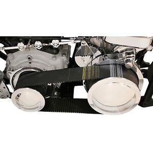 "Belt Drives LTD SHS-630 3"" Belt Drive Kit 72/47 Tooth Harley FL FX 1970-1978"