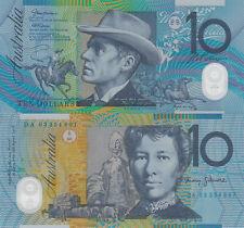 Australia 10 Dollars (2003) - Horserider/Ox Cart/p58b UNC