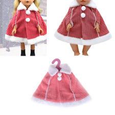 Doll Fashion Winter Cloak Clothes Fit 43cm Amerian Girl Zapf Baby Born Doll ME