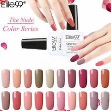 Elite99 Soak Off 10ML UV LED Gel Polish Nude Colour Range Base Top Coat Nail Art
