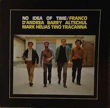 Franco D'Andrea Quartet-No Idea Of Time-Red 202-ITALY BARRY ALTSCHUL