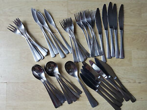 Vintage ARTHUR PRICE Stainless Steel Cutlery - 49 pieces