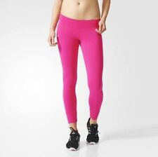 Adidas Linear Women's Full Length Climalite Tights Gym Training Yoga Size 8-10 S