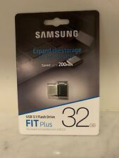 Samsung MUF-32AB/AM FIT Plus 32GB - 200MB/s USB 3.1 Flash Drive 32 GB
