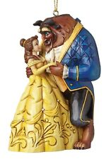 Disney Traditions Beauty and The Beast Hanging Figurine Ornament 10cm A28960