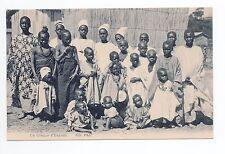 AFRIQUE scenes types ethnies missions  Ethnics un groupe d'enfants indigenes