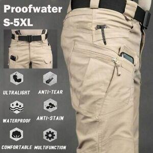 Pantalon Tactique  Cargo Ultra Résistant Waterproof Randonné Pédestre de L'armé