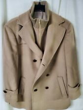 RALPH LAUREN CAMEL WOOL COAT JACKET MENS SIZE 44S
