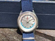 SEIKO WORLD TIME GMT! Crisp, All-Orig, Serviced 4117 6019 1964 SUMMER OLYMPICS